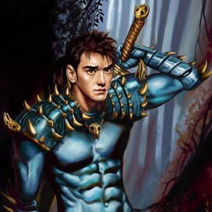 handsome takeshi kaneshiro looking warrior vampire hunter